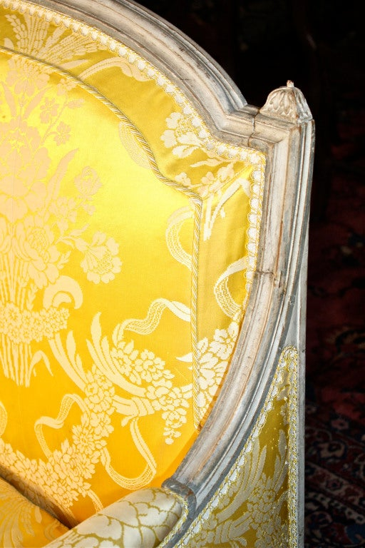 18th Century Louis XVI Jean-Baptiste Boulard French Canapé For Sale