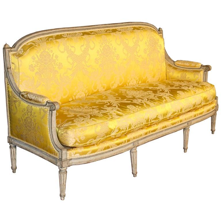 Louis XVI Jean-Baptiste Boulard French Canapé For Sale