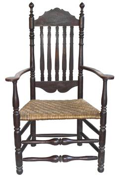 Massachusetts Bannister Back Armchair