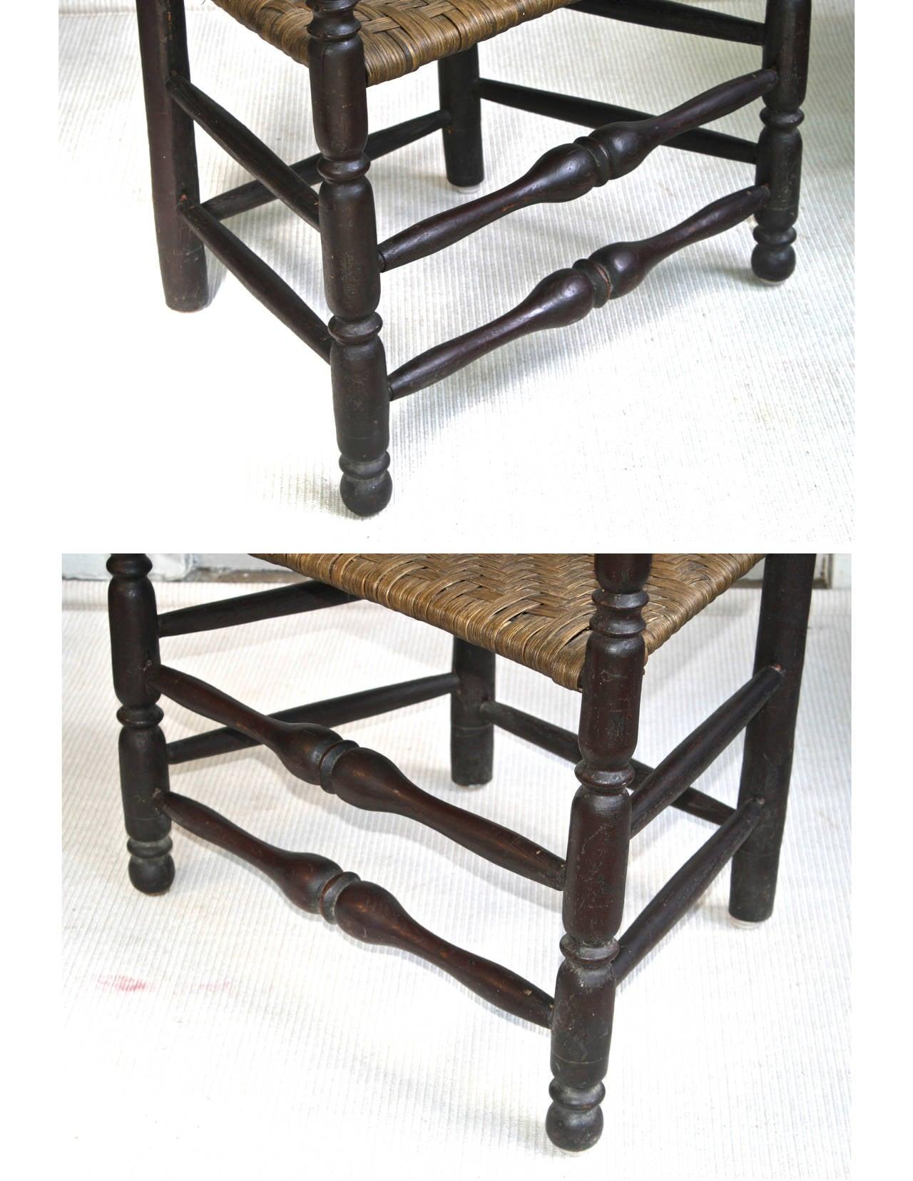 Massachusetts Bannister Back Armchair For Sale 2