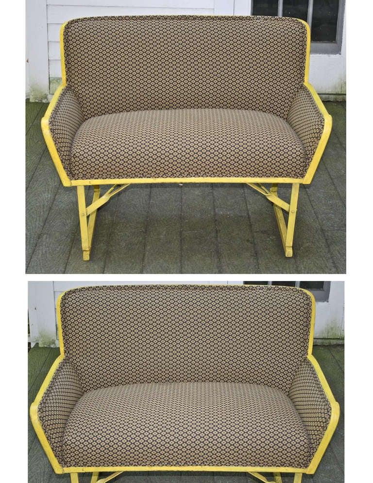 Primitive American 'Phaeton' Carriage Seat For Sale