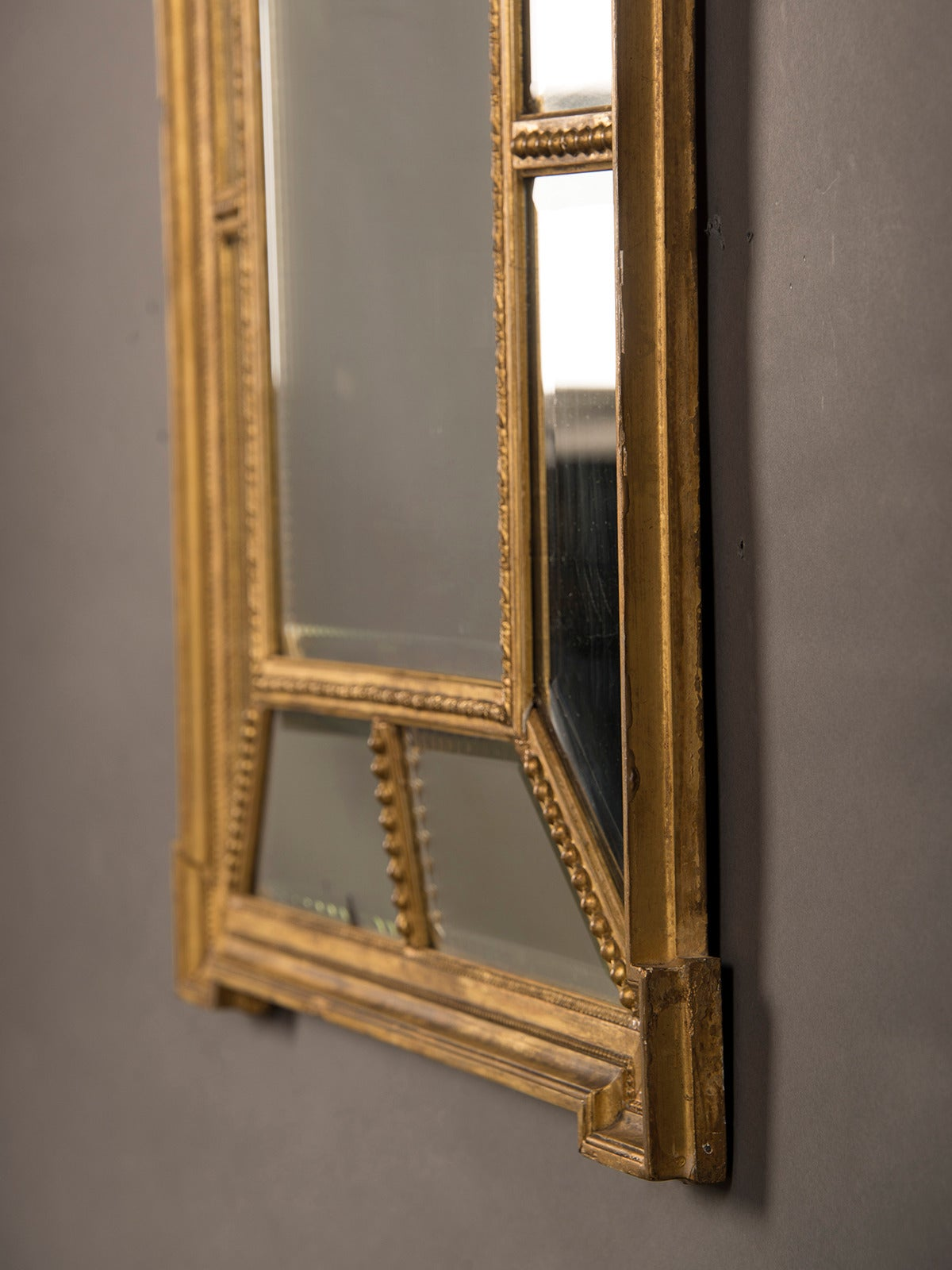 Adam style gold leaf frame mirror england circa 1895 28 for Adam style mirror