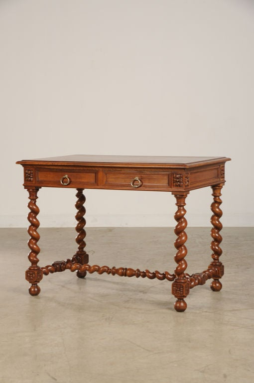 henri ii style walnut side table from france c 1880 at 1stdibs. Black Bedroom Furniture Sets. Home Design Ideas