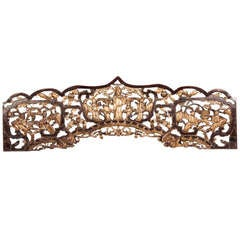 A hand carved and gilded architectural element from China c.1875