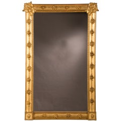 William Kent style gilded frame mirror from England c.1890