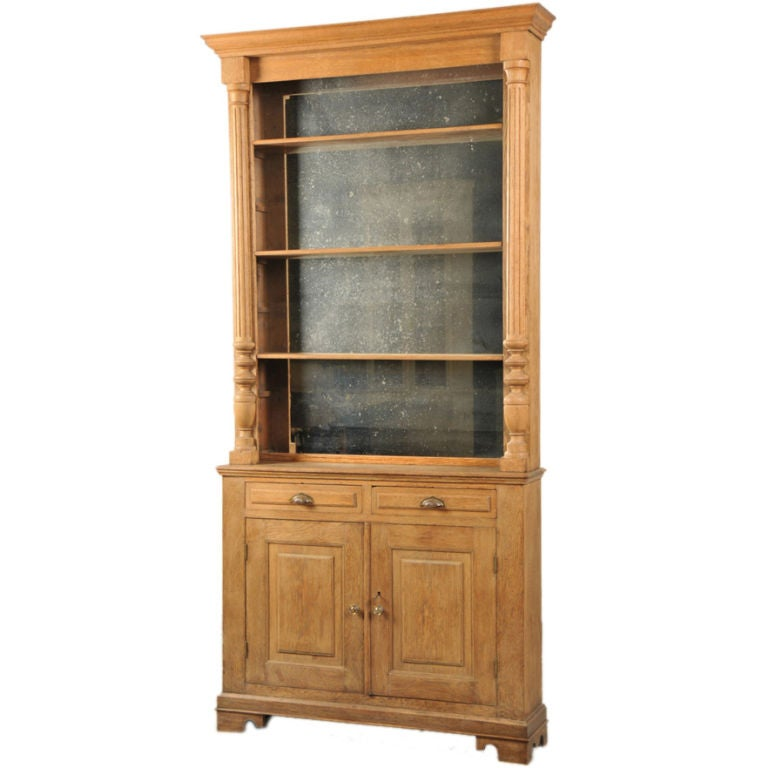 Oak display cabinet from italy c 1880 at 1stdibs for 1880 kitchen cabinets