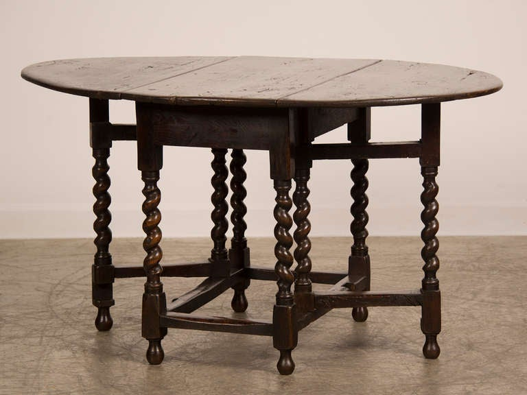 Receive Our New Selections Direct From 1stdibs By Email Each Week Please Click Follow Dealer Antique English George III Period Oak Drop Leaf Table