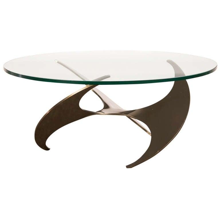 Propeller Coffee Table, Knut Hesterberg, Roland Schmitt, Germany 1964