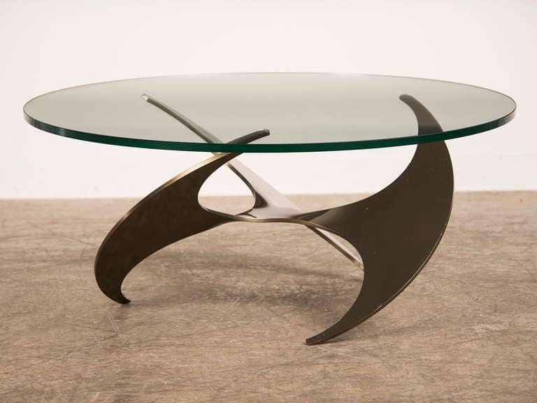 Propeller Coffee Table, Knut Hesterberg, Roland Schmitt, Germany 1964 image 2