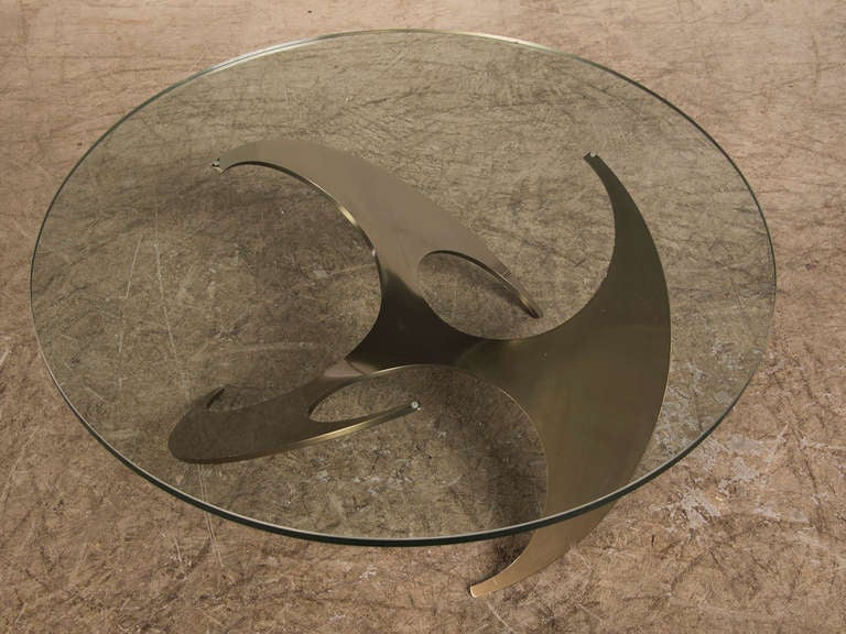 Propeller Coffee Table, Knut Hesterberg, Roland Schmitt, Germany 1964 image 6