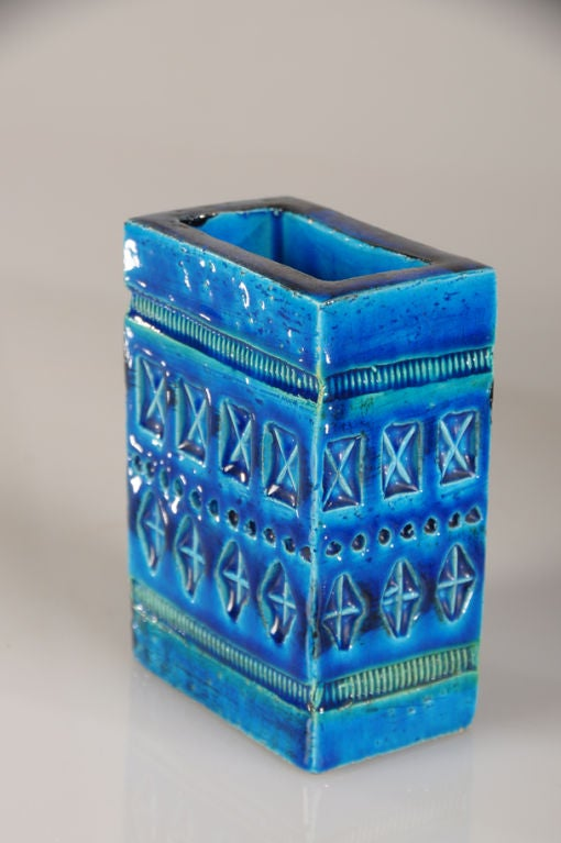 Italian A collection of glazed earthenware vessels from Italy c.1965 For Sale
