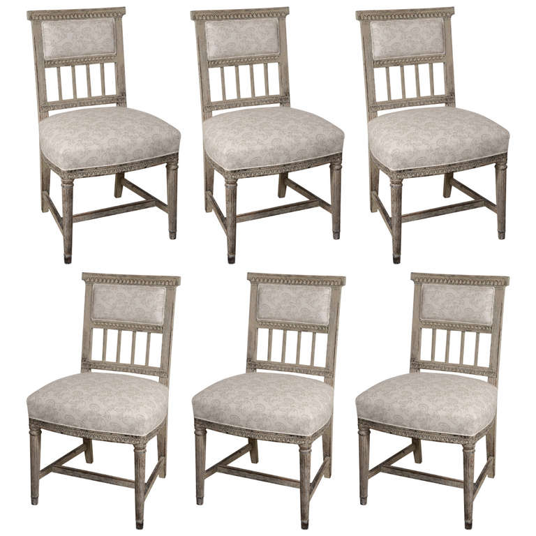 gustavian dining chairs for sale at 1stdibs