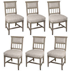 Gustavian Dining Chairs