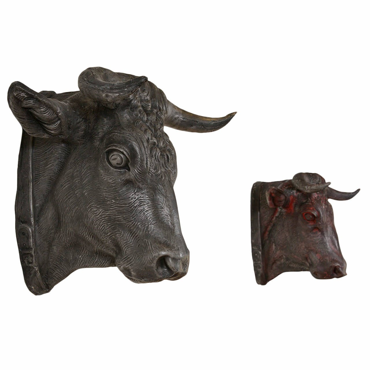 French Bull Head For Sale at 1stdibs