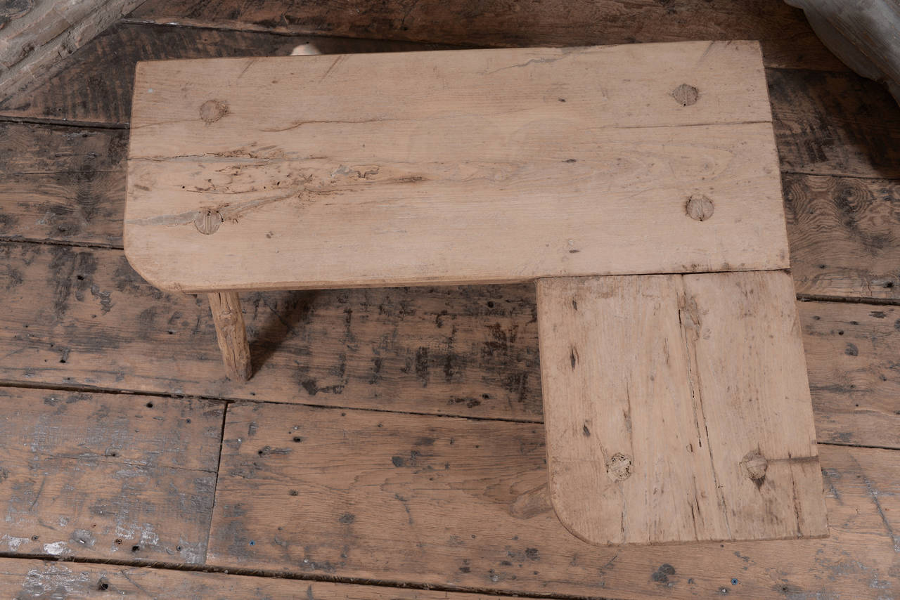 19th Century Primitive Belgian Table For Sale