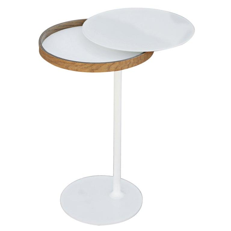 modern tulip side table at 1stdibs. Black Bedroom Furniture Sets. Home Design Ideas