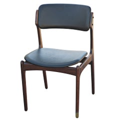 Erik Buch For O.D. Mobler Danish Rosewood Side Chair