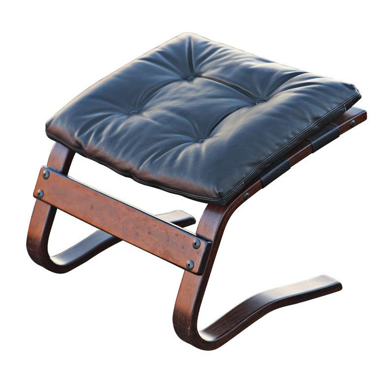 Scandinavian Chair And Ottoman Westnofa Scandinavian Rosewood Lounge Chair  And Ottoman At 1stdibs