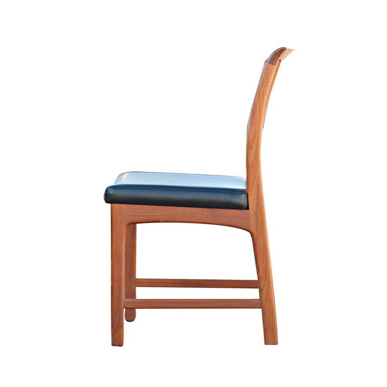 eight teak dux scandinavian dining chairs at 1stdibs