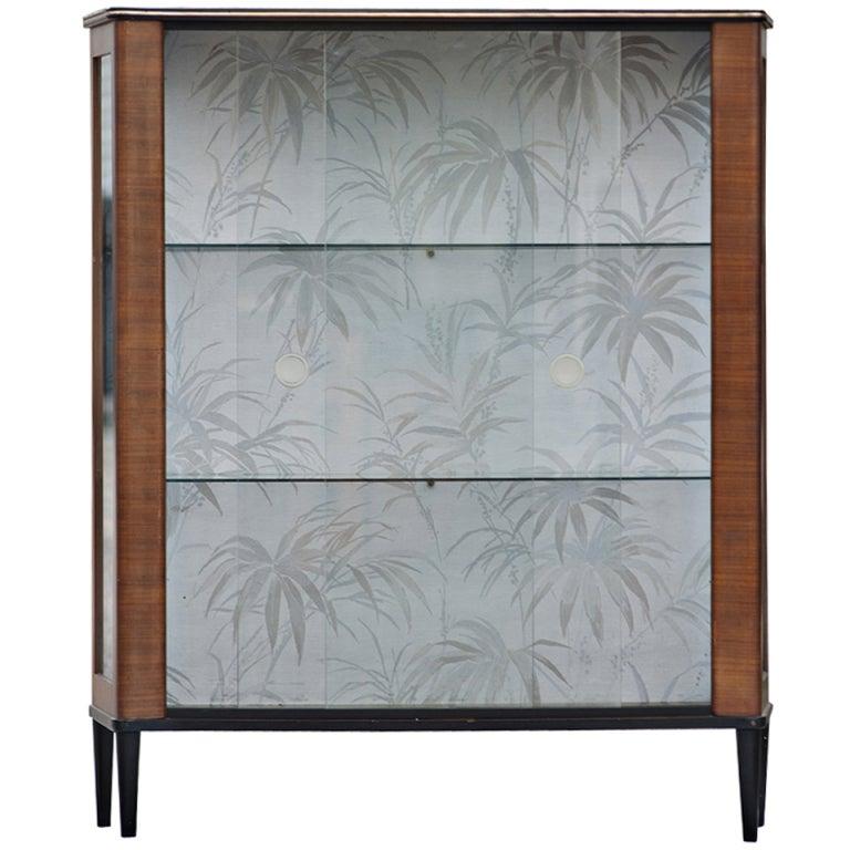Mid Century Modern Curio Display Cabinet