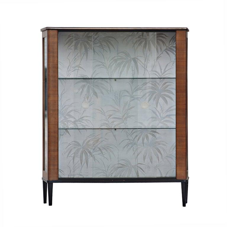 Mid Century Modern Curio Display Cabinet image 2