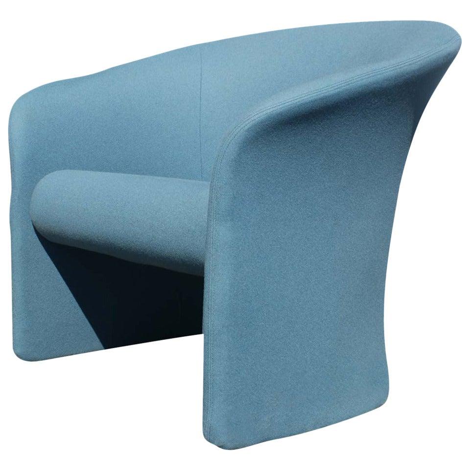 Club Lounge Chair by Massimo & Lella Vignelli
