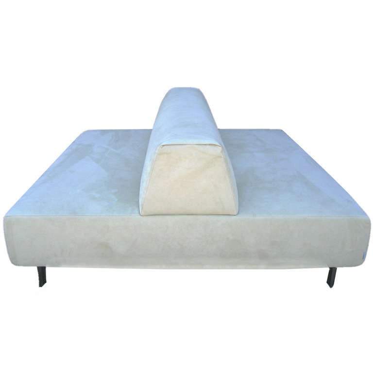 Double Sided Sofa : ... Lissoni for Living Divani Back to Back Metrocubo Couch at 1stdibs