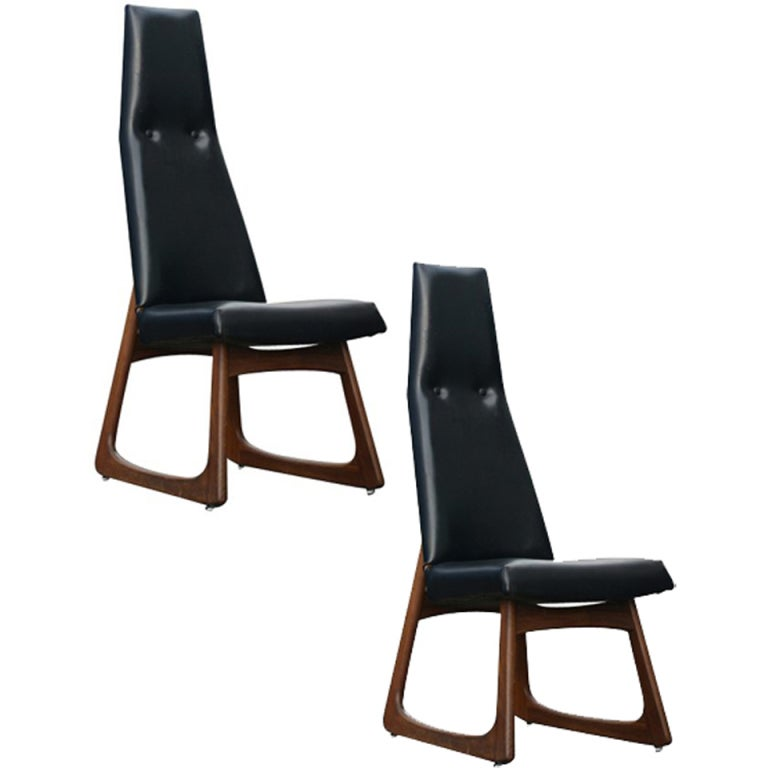 Pair of Adrian Pearsall for Craft Associates Dining Side Chairs