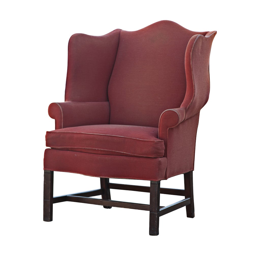 Hickory Townsend Wing Back Chair