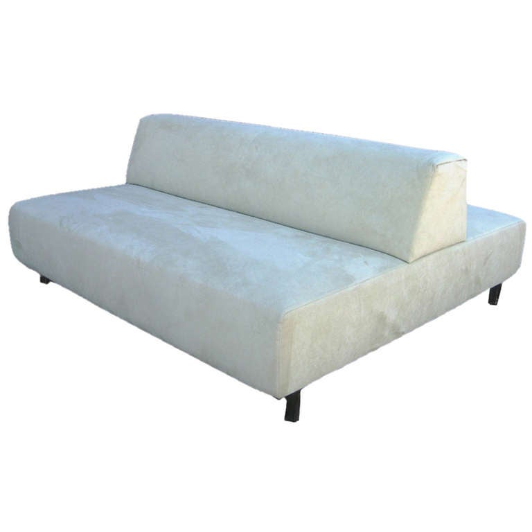 Piero Lissoni for Living Divani Back to Back Metrocubo Couch at