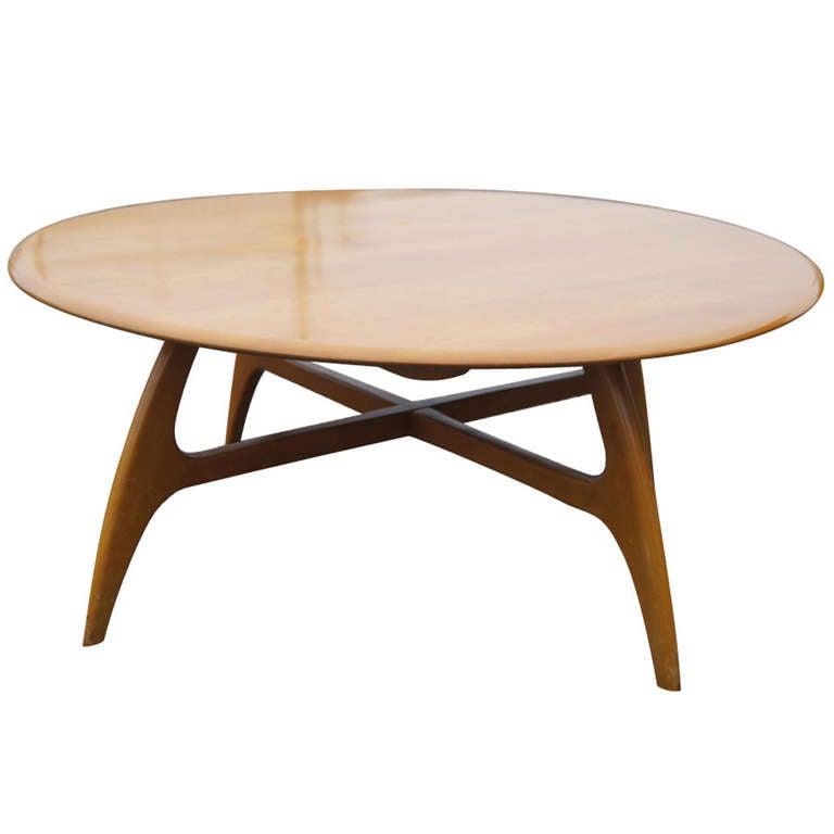 Heywood Wakefield Coffee Table M1578G 1 - Heywood Wakefield Coffee Table M1578G At 1stdibs