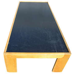 Tobia Scarpa for Cassina Coffee Table w/ Reversible Laminate Top