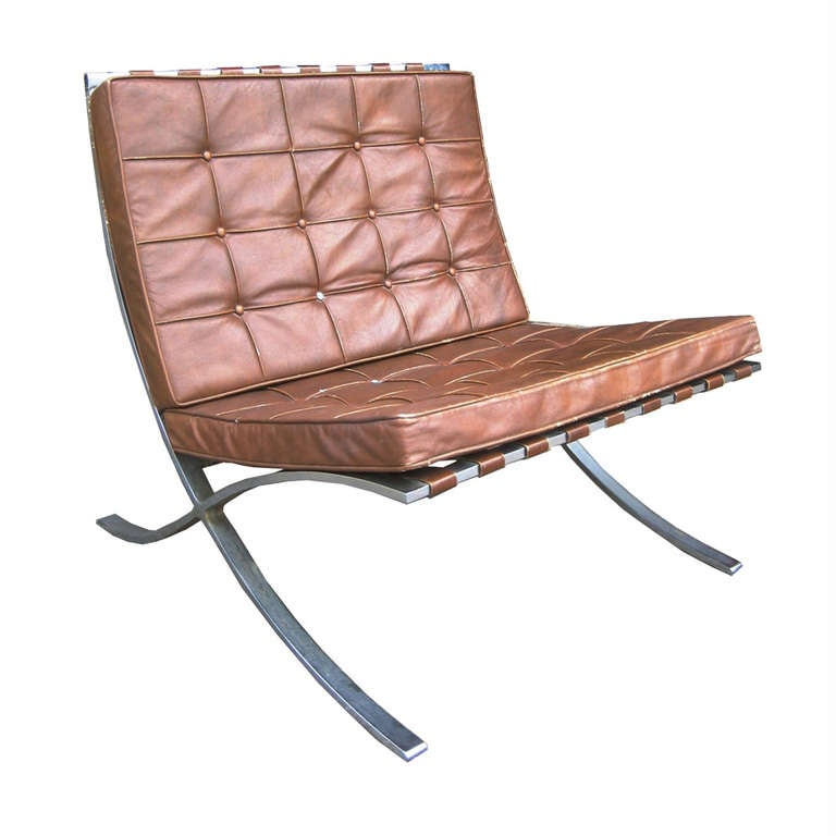 mies van der rohe for knoll barcelona chairs is no longer available