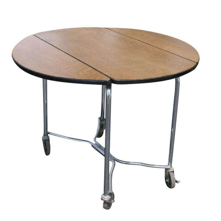 Warren mcarthur drop leaf dining table at 1stdibs for Table warren silex