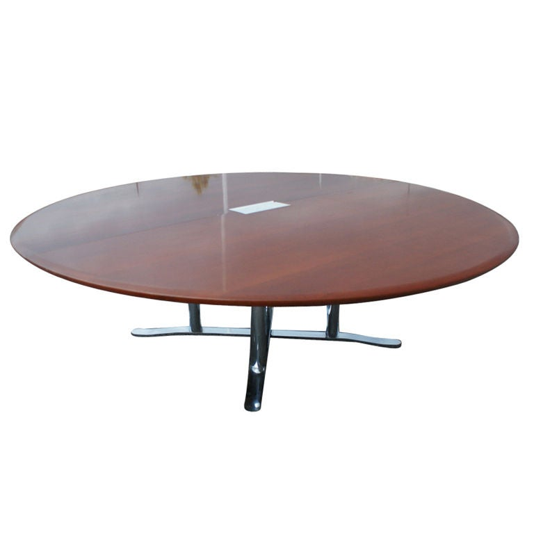 Nicos Zogarphos For Zogaphos Large Round Conference Table For Sale - Large round meeting table