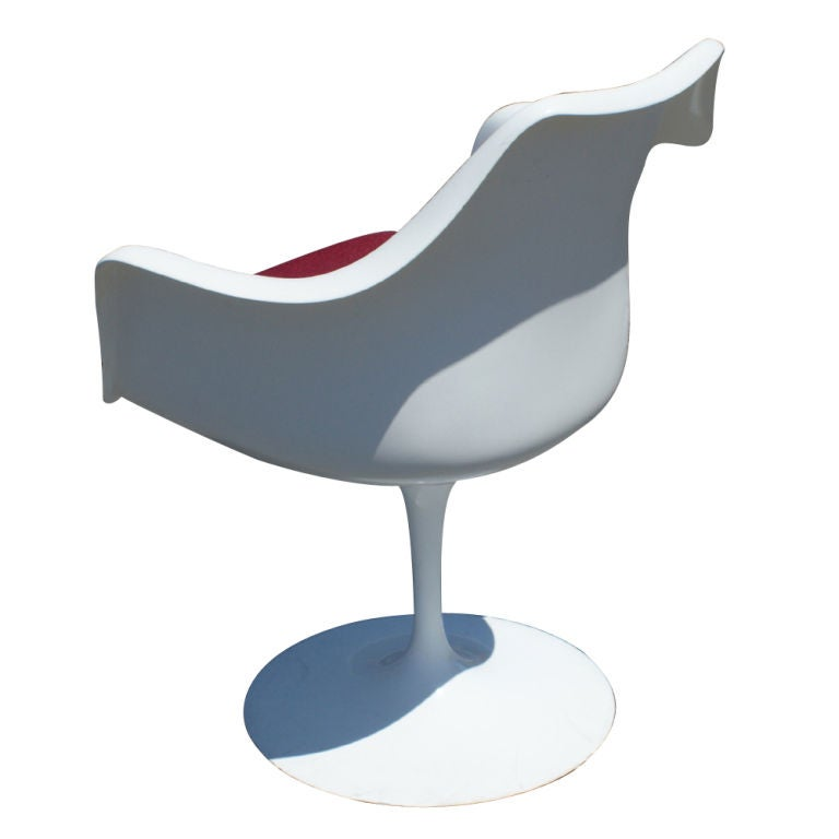 Twelve eero saarinen for knoll tulip arm chairs for sale for Eero saarinen tulip armchair