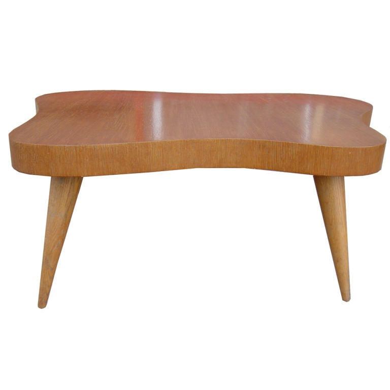 A Clic Mid Century Modern Coffee Or Tail Table Designed And Made By D Zinn In