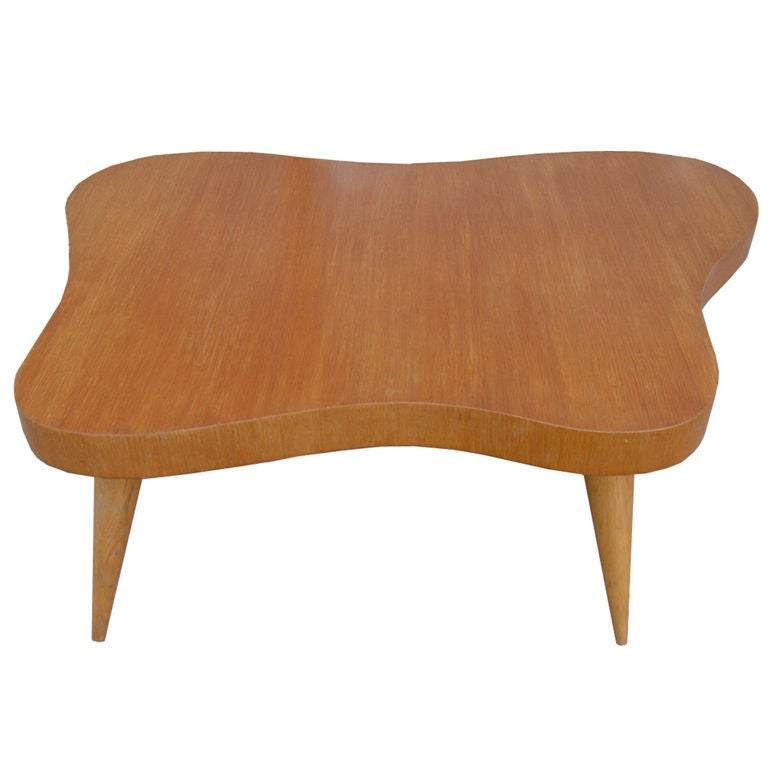 Classic Free Form Organic Mid Century Coffee Cocktail Table At 1stdibs