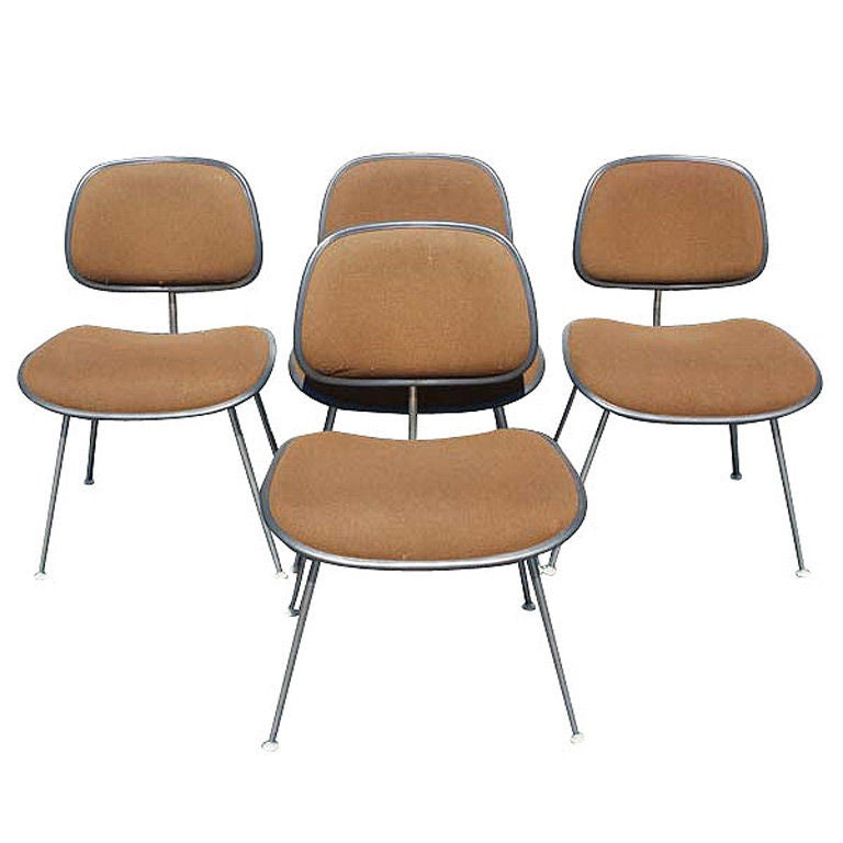 four eames for herman miller dining side chairs at 1stdibs