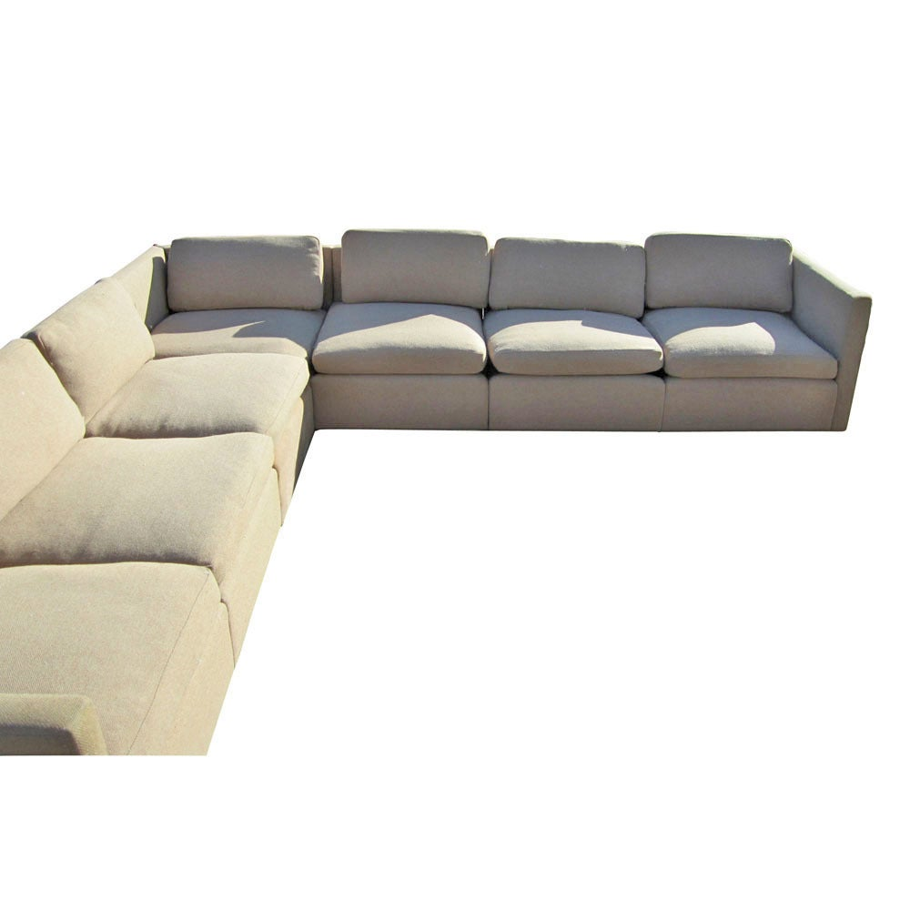 Charles Pfister for Knoll V-Shaped Sectional Sofa 2  sc 1 st  1stDibs : knoll sectional - Sectionals, Sofas & Couches