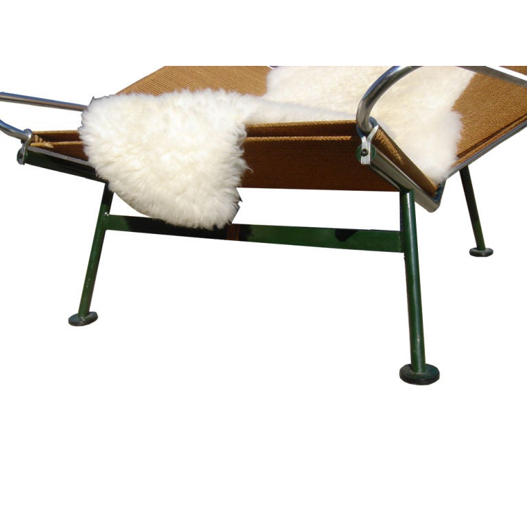 Mid-20th Century Hans Wegner Flag Halyard Lounge Chair For Sale