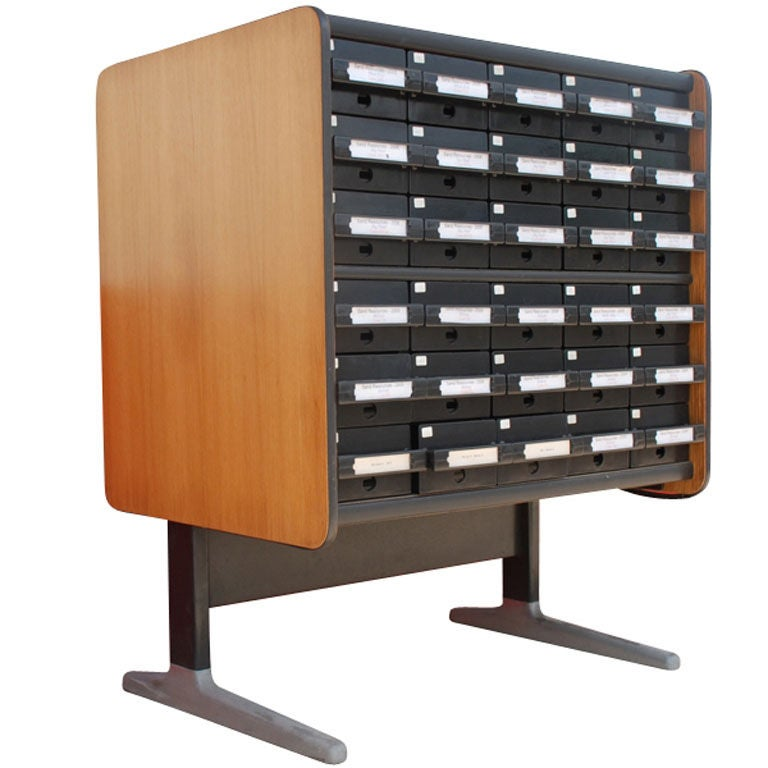 George Nelson for Herman Miller Card Cabinet For Sale