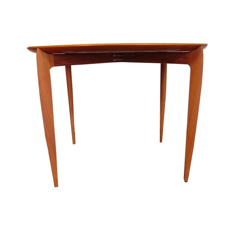 Folding Side Table : Fritz Hansen Folding Tray Side Table at 1stdibs