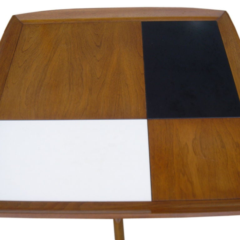 3 FT Square John Keal For Brown Saltman Checkered  Coffee Table sale 3