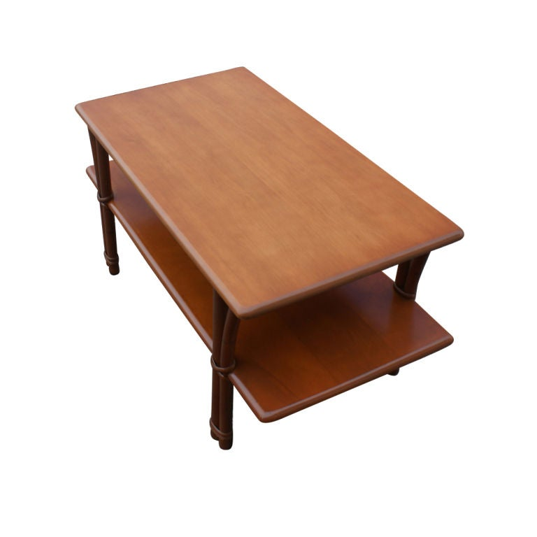 Heywood Wakefield Bamboo Coffee Table 2