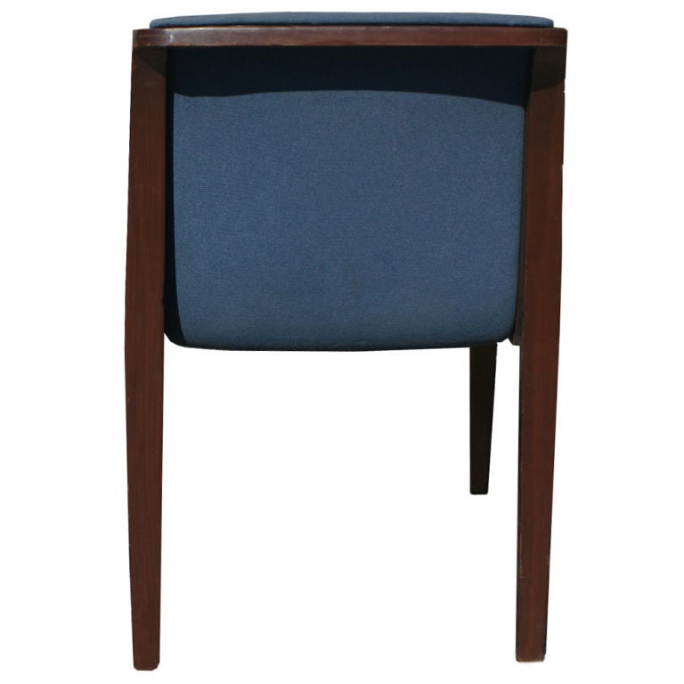 Twelve bill stephens for knoll dining side chairs at 1stdibs