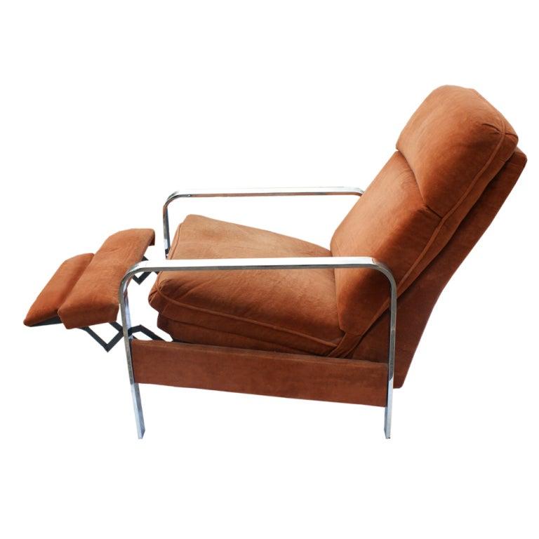 American Milo Baughman For Design Institute Of America Recliner For Sale
