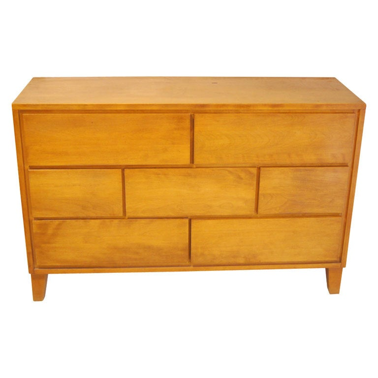 Russel Wright For Conant Ball Chest Dresser At 1stdibs