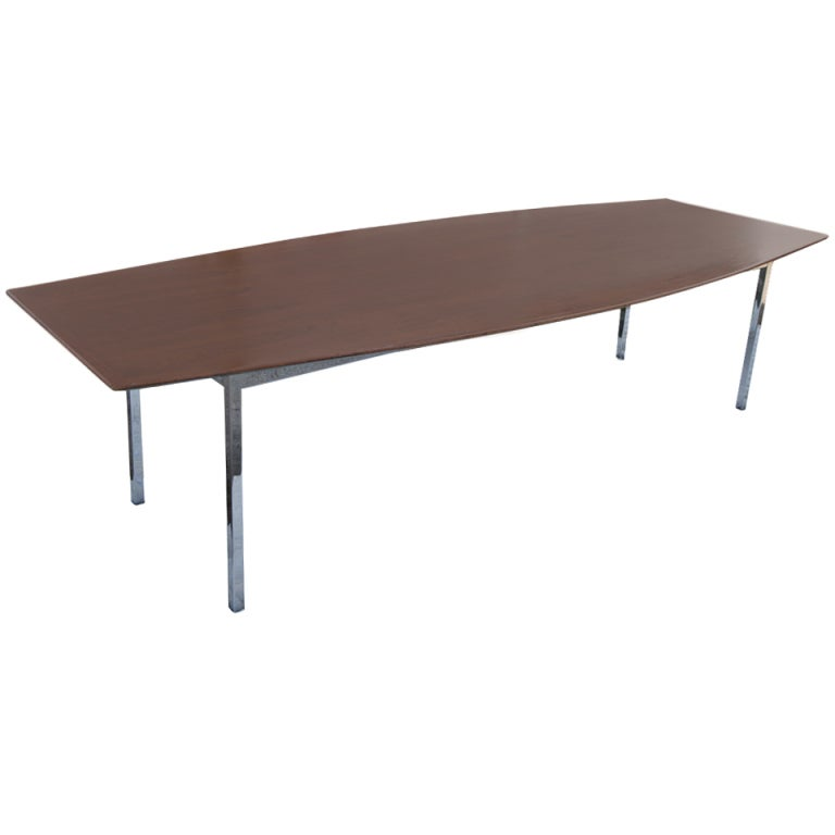 Florence Knoll For Knoll Rosewood Conference Table