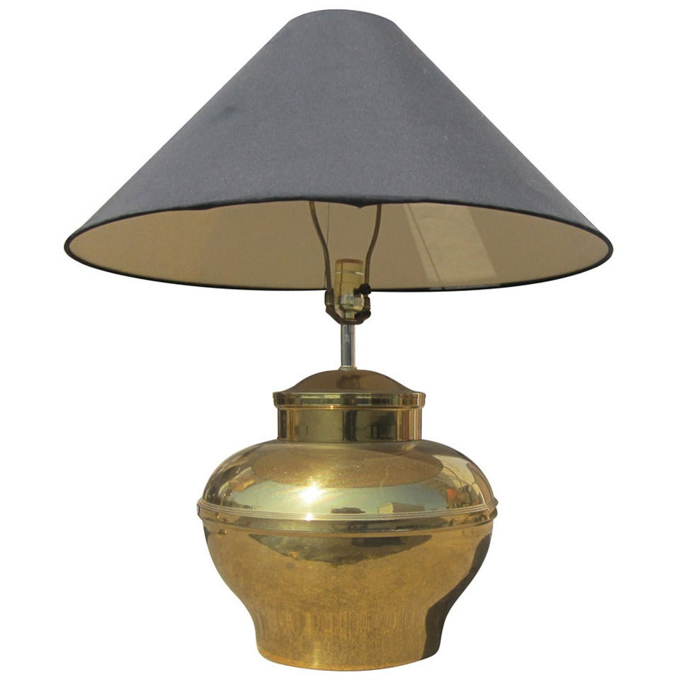 Vintage Brass Urn Table Lamp By Fredrick Cooper At 1stdibs